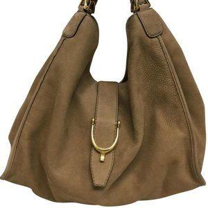 XL Gucci Stirrup Handbag